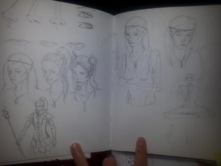 1 Correna Sketch