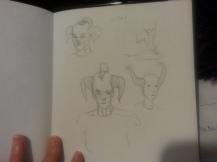 5 Odille Sketch