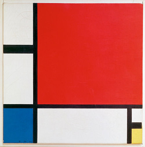 Composition-II-in-Red-Blue-and-Yellow-1930-Piet-Mondrian